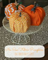halloween fabric crafts unique pumpkin diy ideas turn everyday items into pumpkins