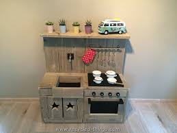 play kitchen from furniture diy projects with wooden pallets pallet pallets and plays