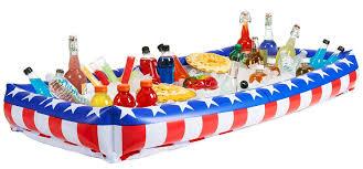 halloween inflatable cooler amazon com otc patriotic inflatable buffet cooler for indoor