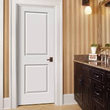 jeld wen interior doors home depot jeld wen 30 in x 80 in molded smooth 2 panel square primed white