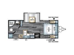 Salem Travel Trailer Floor Plans by 2018 Forest River Salem Cruise Lite 232rbxl Salem Or Rvtrader Com