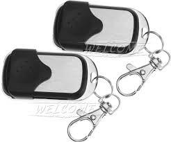 garage door key fob 2pcs cloning electronic key fob 270mhz 433mhz remote control