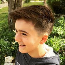 extremely thick boys haircuts 25 cool haircuts for boys 2017