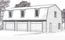 loft garage plans ready to use pdf garage plan from behm