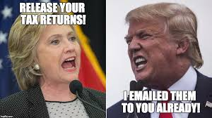 Tax Return Meme - release your tax returns i emailed them to you already meme