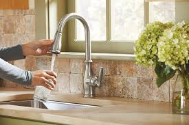 traditional kitchen faucet traditional kitchen moen 7185 brantford review high arc pulldown