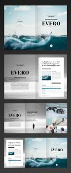 brochure layout indesign template free indesign template trifold brochure 리플렛 약도 pinterest