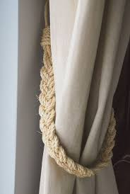 best 25 natural curtain holdbacks and tiebacks ideas on pinterest