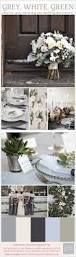 Winter Color Schemes by Grey White Green Wedding Inspiration Board Winter Weddings And
