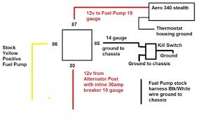 fuel pump wiring double checking having issue honda tech honda