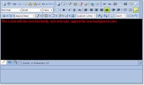Set Editor Background And Color Radeditor For Asp Net Ajax Html Set Page Background Color