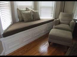 bay window seat cushions bay window seat cushion youtube