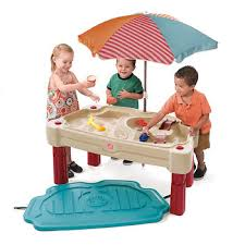 step 2 sand and water table step2 play up adjustable sand and water table bjs wholesale club