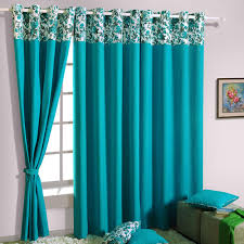Blue Window Curtains Interior Beautiful Blue Blackout Window Curtains For Modern
