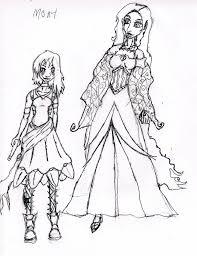prom dress sketch by phantom724 on deviantart