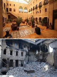 syria before and after 10 before and after pics reveal what war did to the largest city in