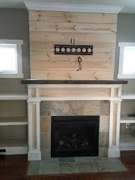 shiplap fireplace with built ins www theuniquenest com