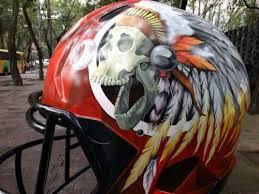 helmet design game kansas city chiefs helmet design for 2016 mexico city nfl game art