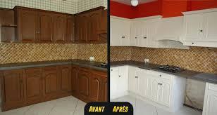 repeindre une cuisine en chene vernis peinture meuble cuisine chene toujours plus de rangements