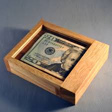 gift card puzzle box out money or gift card trick puzzle