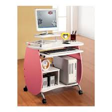 Kid Station Computer Desk Computer Desk For Computer Work Station In Pink