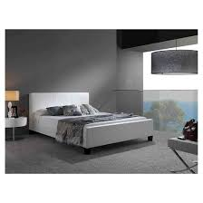 euro platform bed white queen fashion bed group target