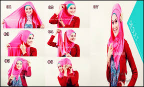 tutorial hijab pashmina kaos yang simple tutorial jilbab pashmina kaos cara memakai jilbab