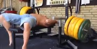 How Much To Bench Bench Press Fail Almost Results In Man Accidentally Killing Himself