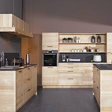 cuisine moderne bois clair idée relooking cuisine cuisine moderne couleur bois cuisine