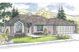 Spanish Ranch House Plans Ranch House Plans Bingsly 30 532 Associated Designs