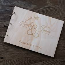 Rustic Wedding Albums Aliexpress Com Buy Personalized Wedding Guest Book Custom Wood