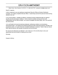 Cover Letter Examples Email Best Emergency Services Cover Letter Examples Livecareer