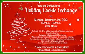 holiday cookie exchange invitation wording infoinvitation co