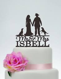fireman wedding cake toppers wedding cake topper mr and mrs cake topper with surname fireman