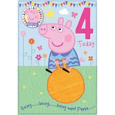 peppa pig greeting u0026 birthday cards ebay