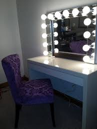 vanity mirror with led lights brilliant see yourself clearly lighted makeup mirrors blake lockwood