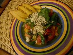 Mediterranean Vegan Kitchen My Haitian Kitchen Shay U0027s Mediterranean Sweet Pepper Salad With