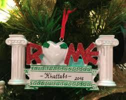 rome ornament etsy