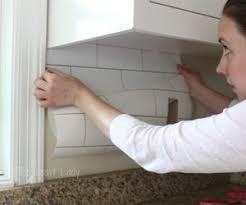 wallpaper kitchen backsplash ideas the 25 best removable backsplash ideas on shelves