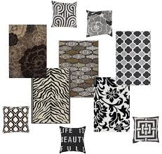 White Home Decor Accessories Flooring Cozy Black And White Surya Rugs With Cozy Dark Pergo