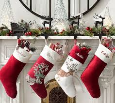 Pottery Barn Kids Stockings Silly Stag Stocking Pottery Barn