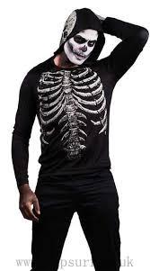 Glow In The Dark Skeleton Costume Seeing Red Plus Size Men U0027s Glow In The Dark Skeleton Shirt Si