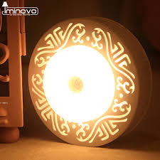 cordless battery powered led picture light iminovo motion sensor night light battery powered led light cordless