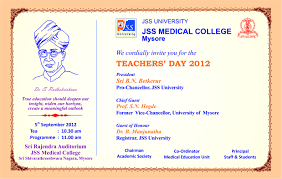 Special Invitation Card Card Invitation Ideas Free Printable Teachers Day Invitation Card
