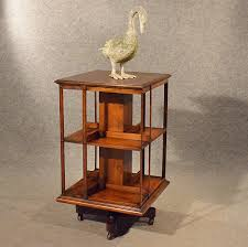 Revolving Bookcase Table Antique Oak Revolving Bookcase Library Stand Antiques Atlas