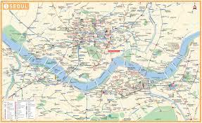 Printable Map Of Las Vegas Strip by Map Of Seoul Korea Free Printable Maps
