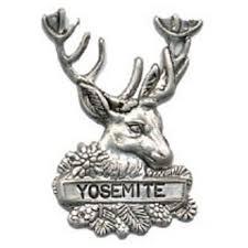 Deer Head by Hiking Stick Medallion Deer Head Yosemite Online Store