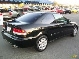 Honda Civic 2000 Specs Flamenco Black Pearl 2000 Honda Civic Ex Coupe Exterior Photo