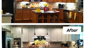 Restaining Kitchen Cabinets Pleasurable Restaining Oak Kitchen Cabinets Darker Tags