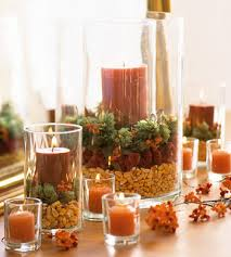 simple thanksgiving candle displays centerpieces thanksgiving and